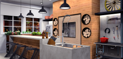 Projeto de Interiores – Churrasqueira Gourmet – Bairro Petrópolis – Porto Alegre -R.S