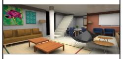 Projeto 3D – Casa Zona Sul – Porto Alegre -R.S